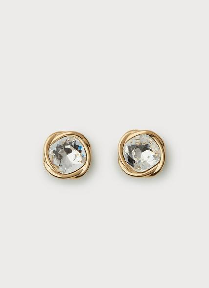 Swarovski Sydney Crystal Gold Plating Earrings