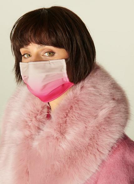 Ombré Pink Graduated Face Mask