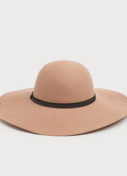 Kendall Camel Fabric Hat