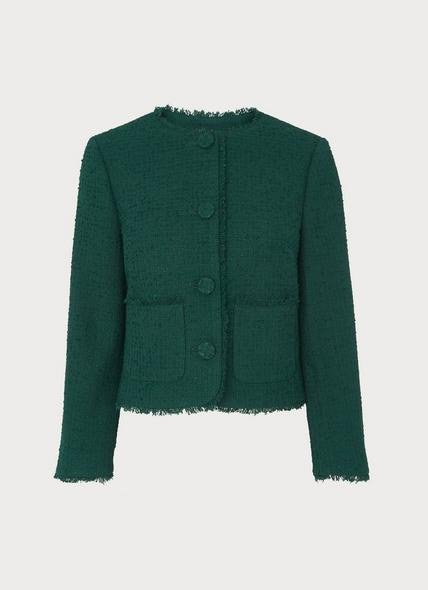 Bernice Green Tweed Jacket