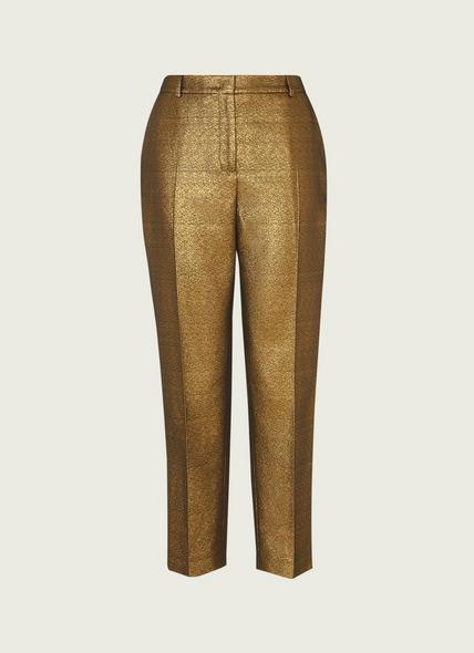 Issy Gold Tailored Trousers