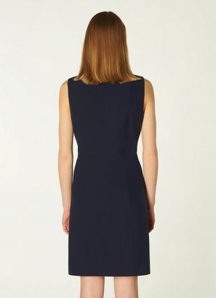 Hillier Navy Double-Breasted Tailored Dress