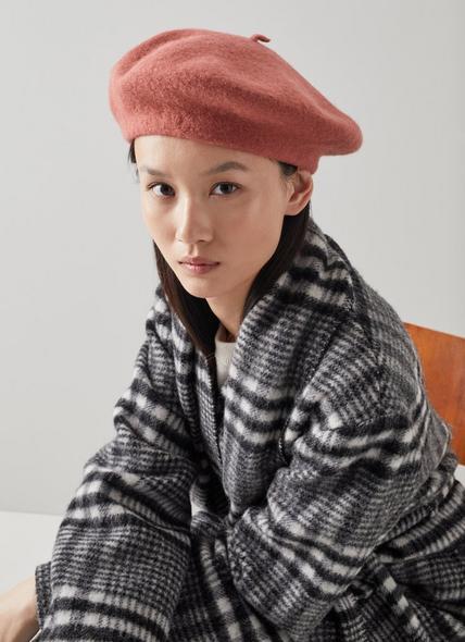 Kensington Rose Wool Hat