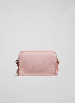 Mini Mari Pink Grainy Leather Shoulder Bag