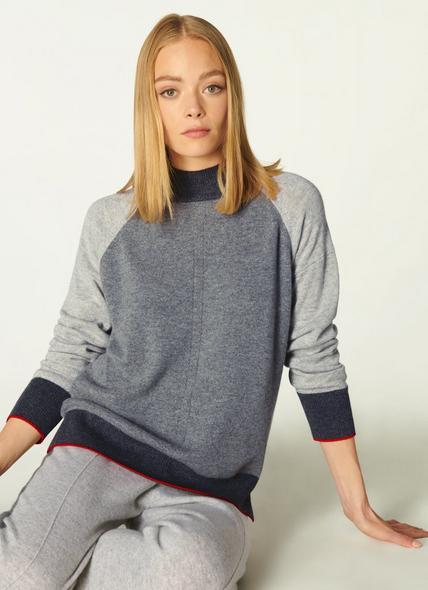 Bergen Grey Cashmere Jumper