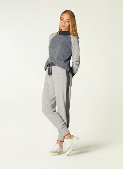 Bergen Grey Cashmere Joggers