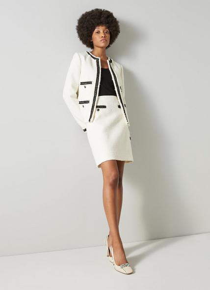 Charlee Cream Tweed Jacket