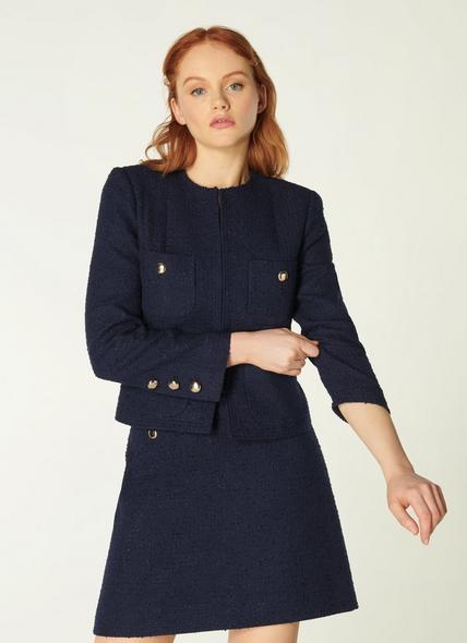 Highbury Navy Tweed Jacket