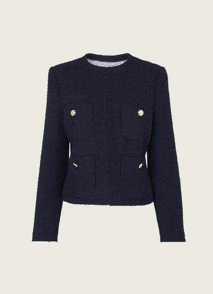 Highbury Navy Tweed Jacket