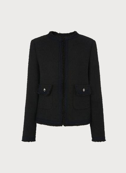 Mercer Black Tweed Jacket