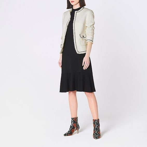 Mercer Cream Tweed Jacket