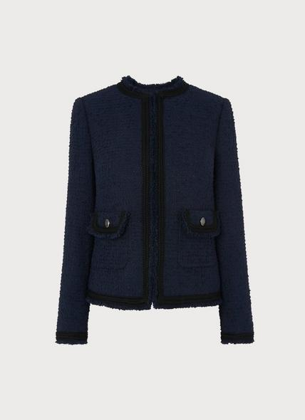 Mercer Navy Tweed Jacket