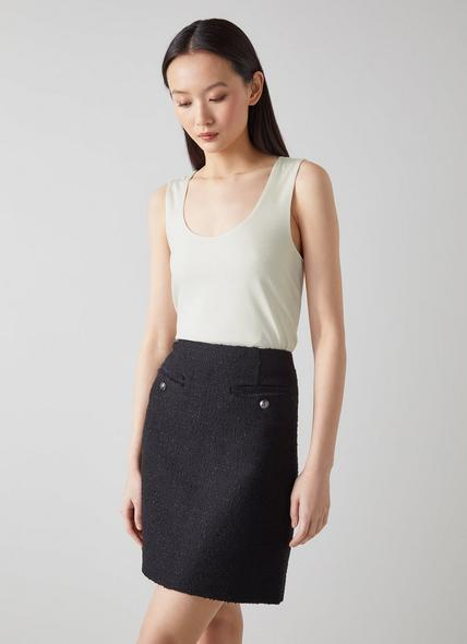 Ginny Cream Vest Top