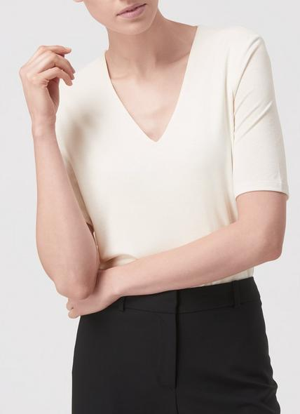 Lisha Cream Top