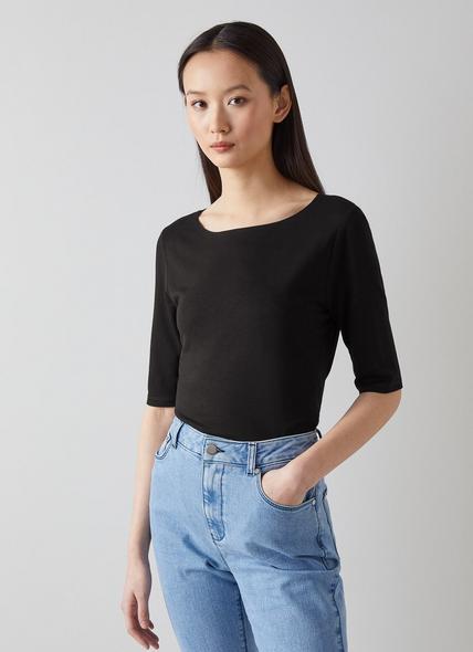 Trina Black T-Shirt