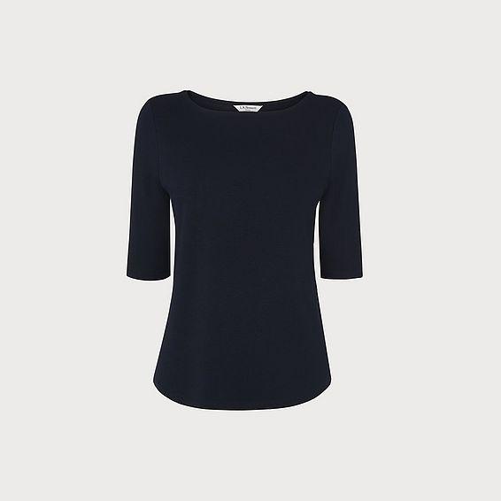 Trina Navy T-Shirt