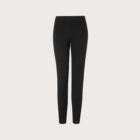 Adelle Black  Skinny Leg Trousers