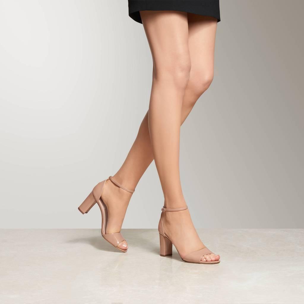 thumbnail 6 - L.K.Bennett Helena Fawn Patent Formal Sandals
