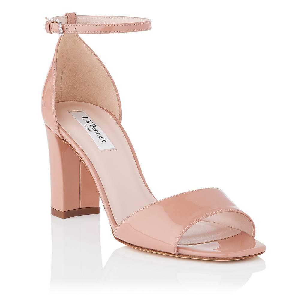 thumbnail 8 - L.K.Bennett Helena Fawn Patent Formal Sandals