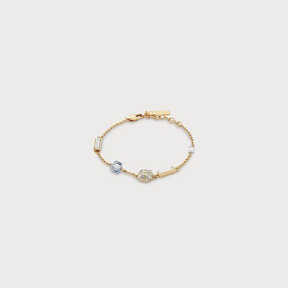 Gisel Gold Crystal Bracelet