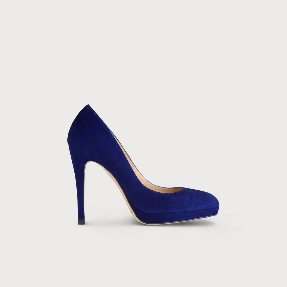 Sledge Blue Suede Courts by L.K.Bennett