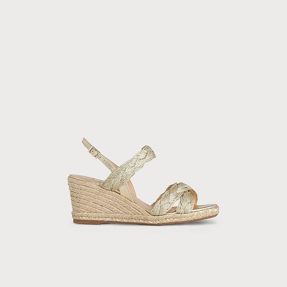 bb23ef2d281e Roxie Soft Gold Espadrille Sandals