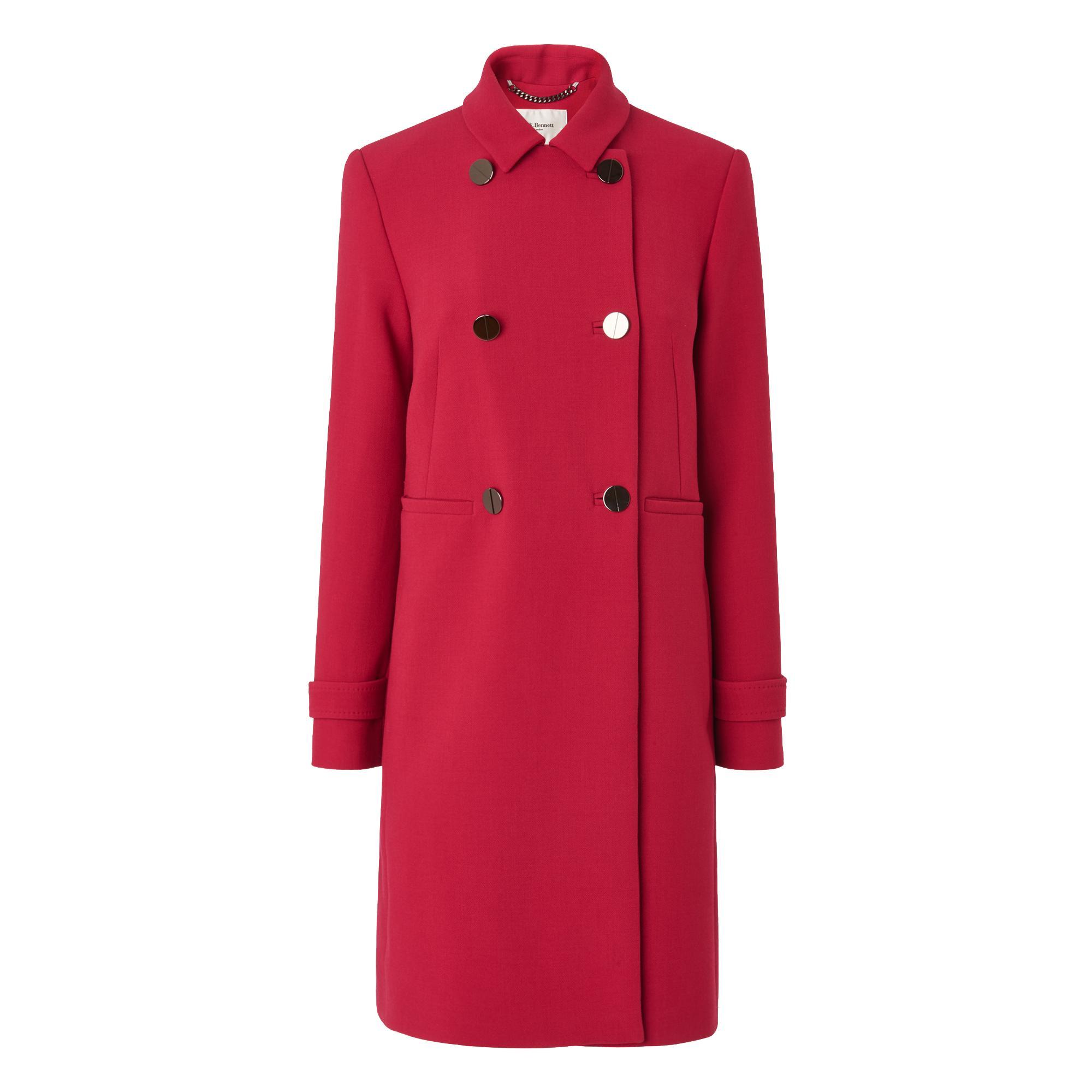 Bay Raspberry Coat