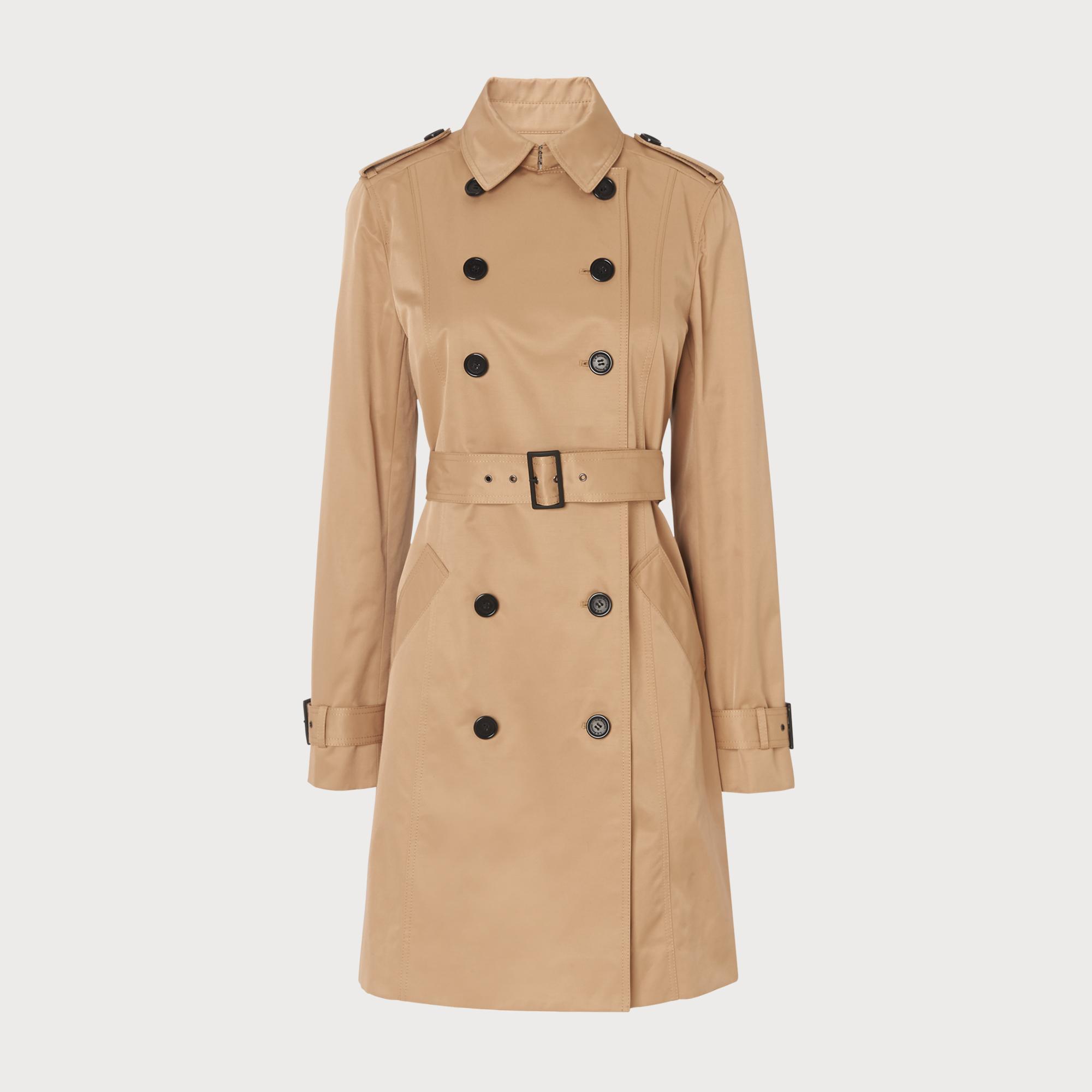 Ladies designer camel coat