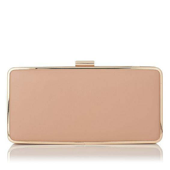 Nora Trench Leather Clutch
