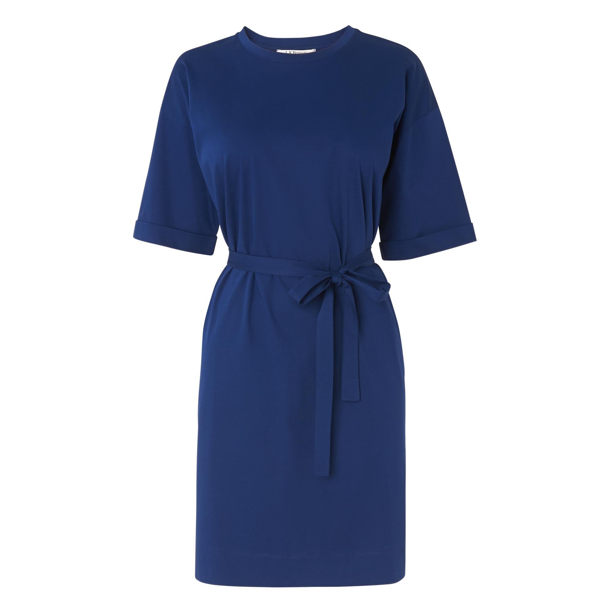 Adana Blue Jersey Dress