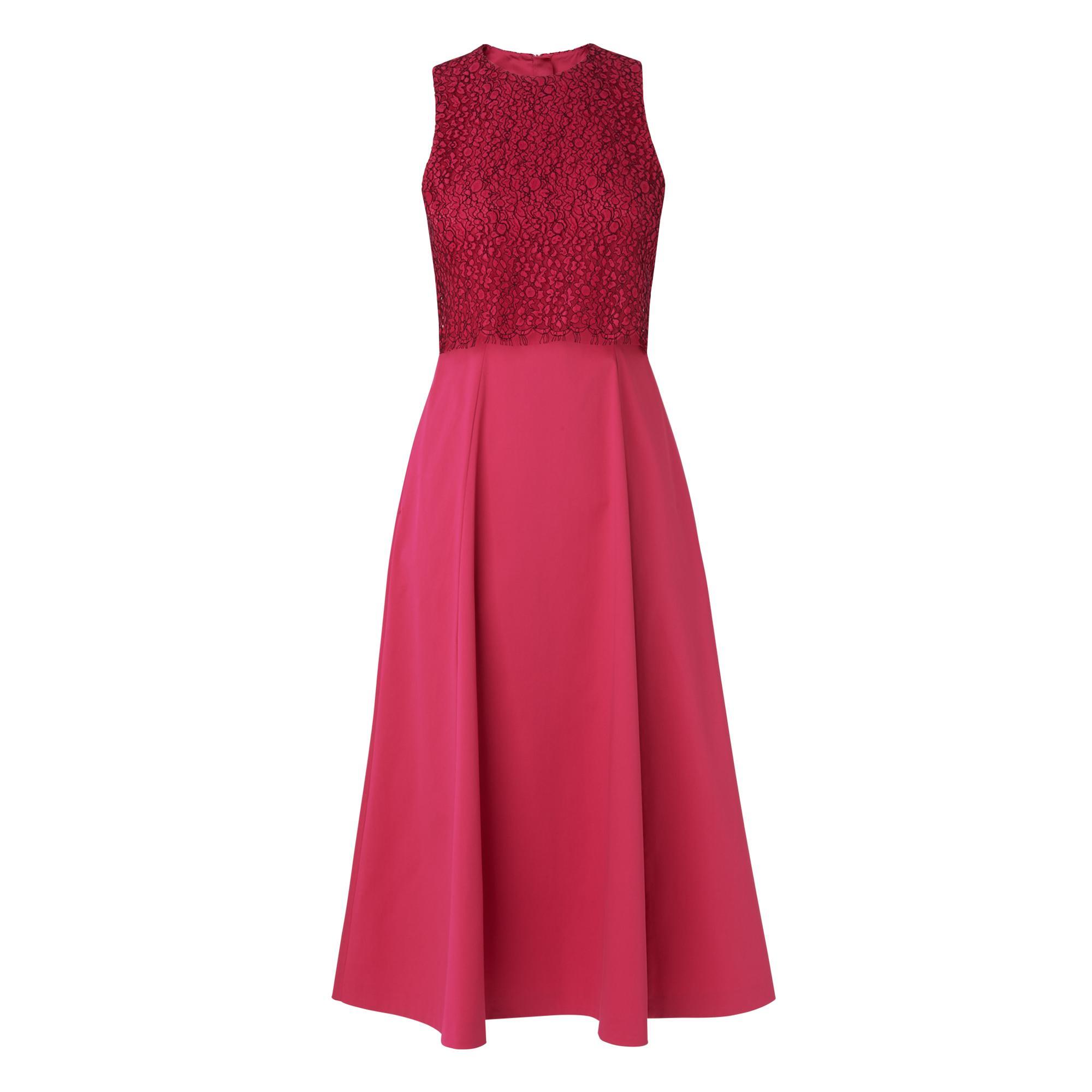 Alecia Pink Cotton Dress