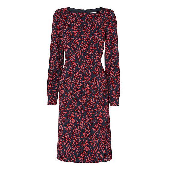 Alex Blue Geranium Dress