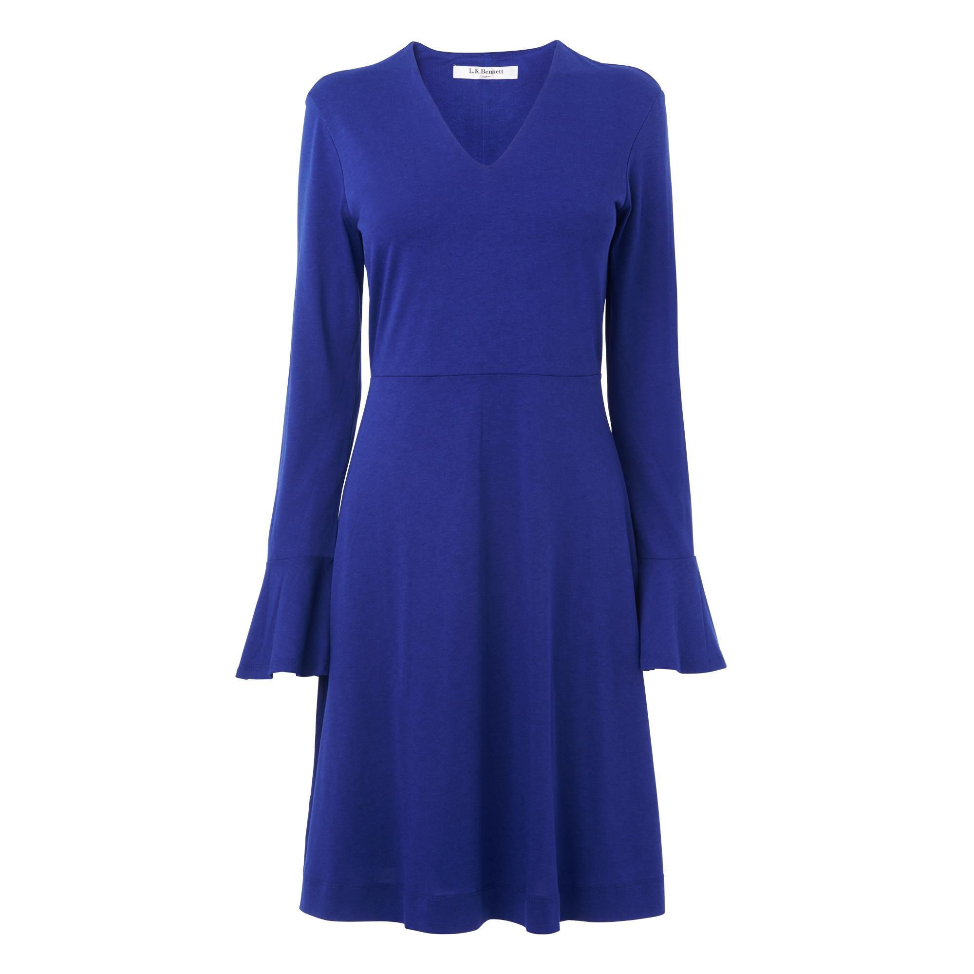 Amano Blue Jersey Dress