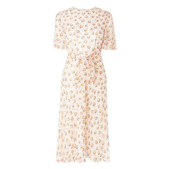 Eve Cream Silk Dress