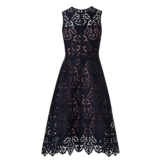 Marie Navy Dress