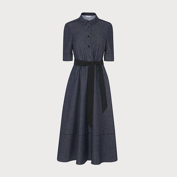 Reene Denim Cotton Dress