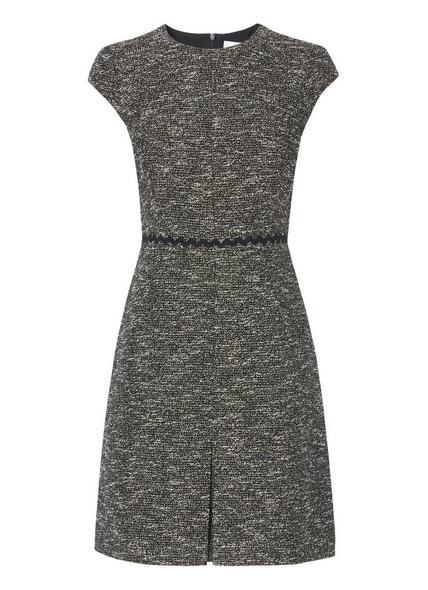 Rory Black Cream Dress