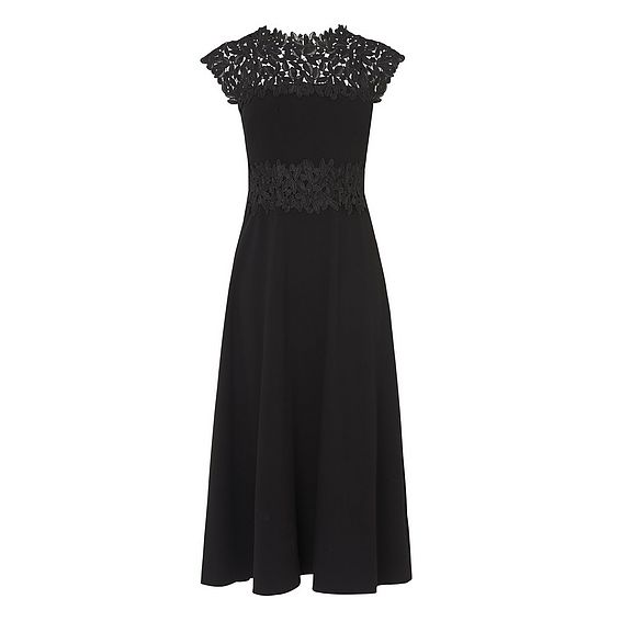 Salena Black Dress