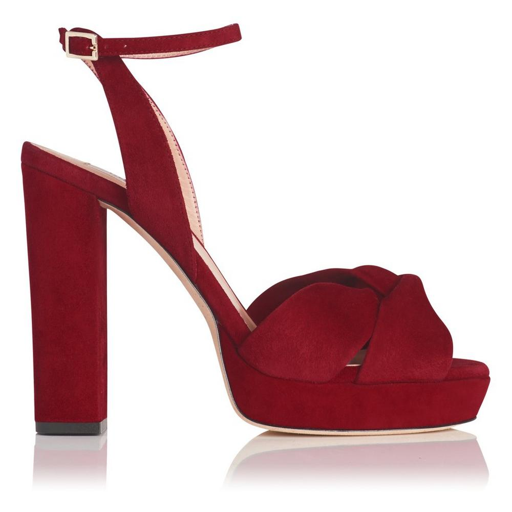 LK Bennett ANNABELLA - High heeled sandals - poppy
