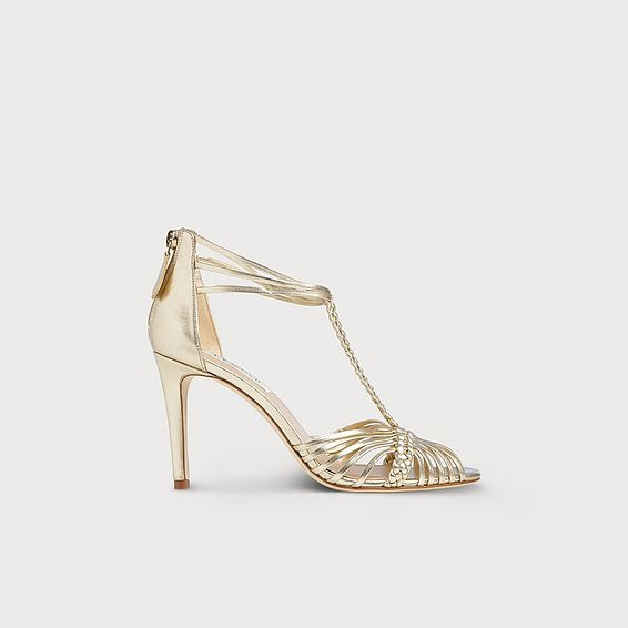 Dorothy Gold Leather Sandals