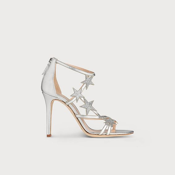 60a03ff7315 Felicity Silver Leather Sandals