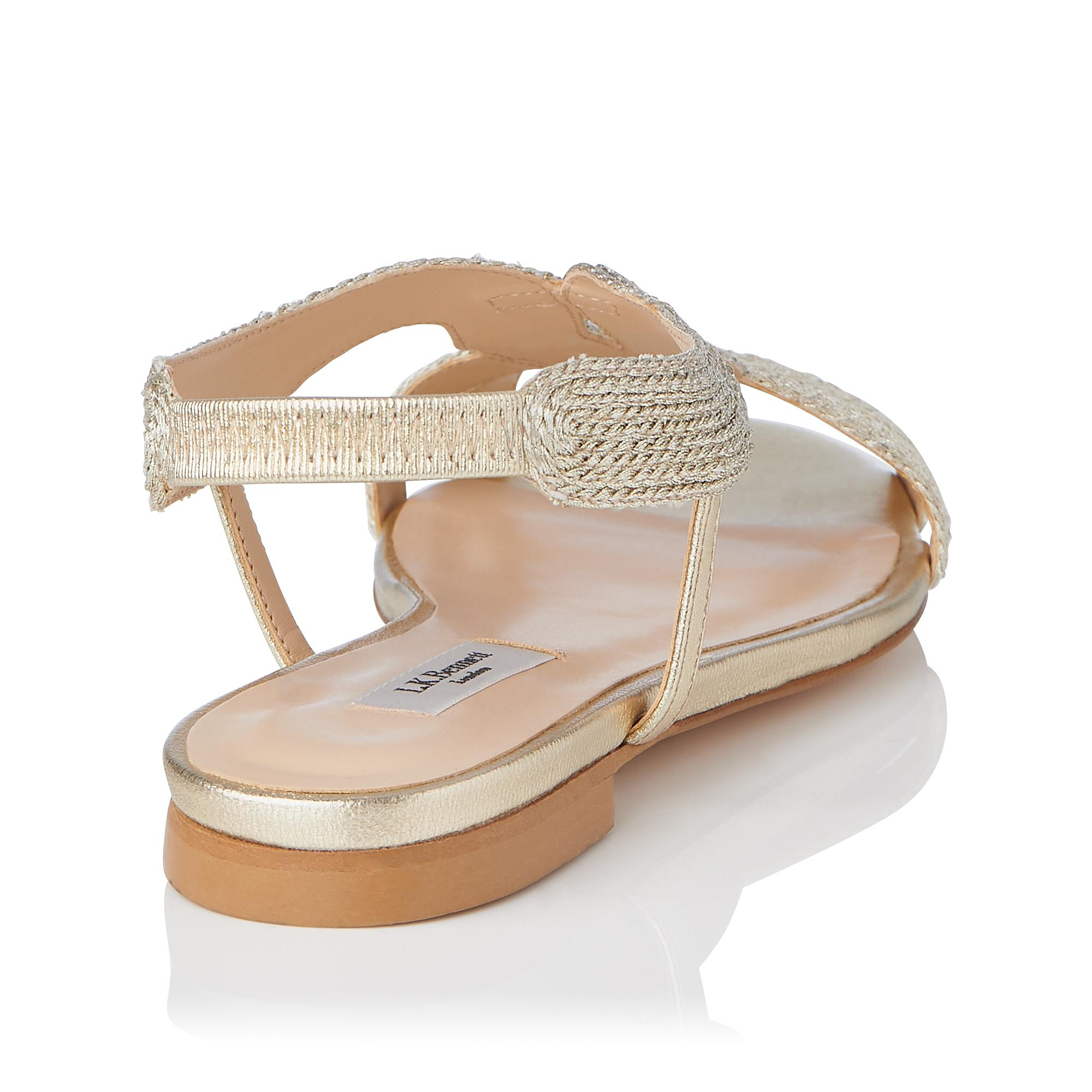 3f0e4aaa76bb ... Maya Rope Flat Sandals. Tap to zoom