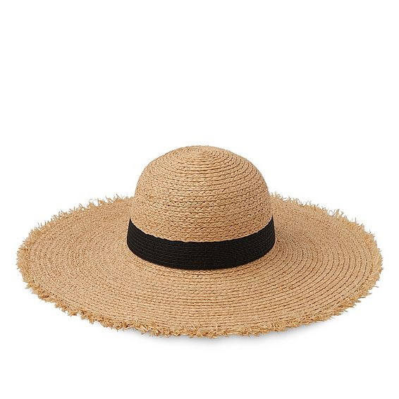 Lynn Brown Raffia Hat