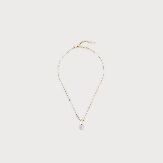 Gaia Gold Crystal Necklace