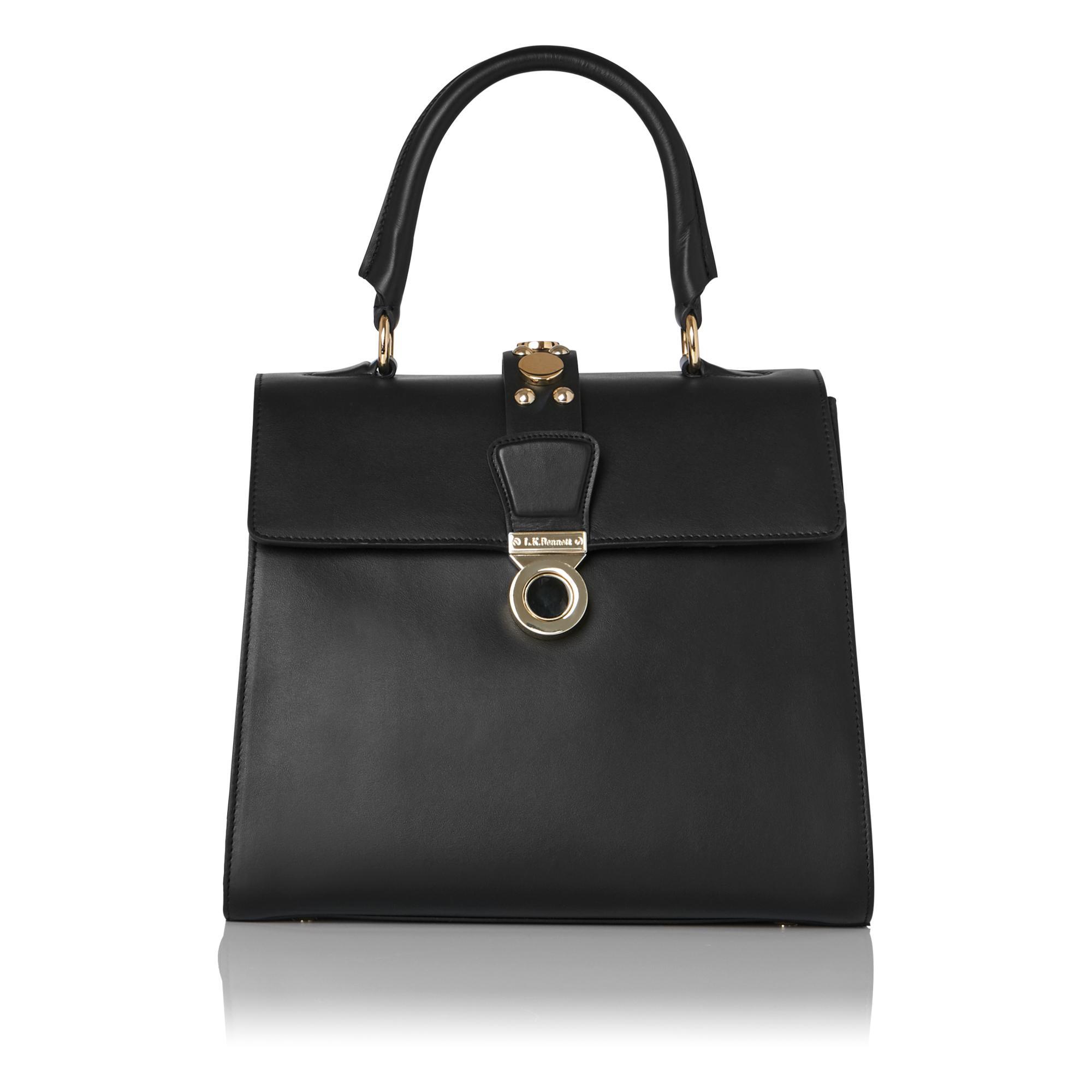 Amy Black Studs Shoulder Bag