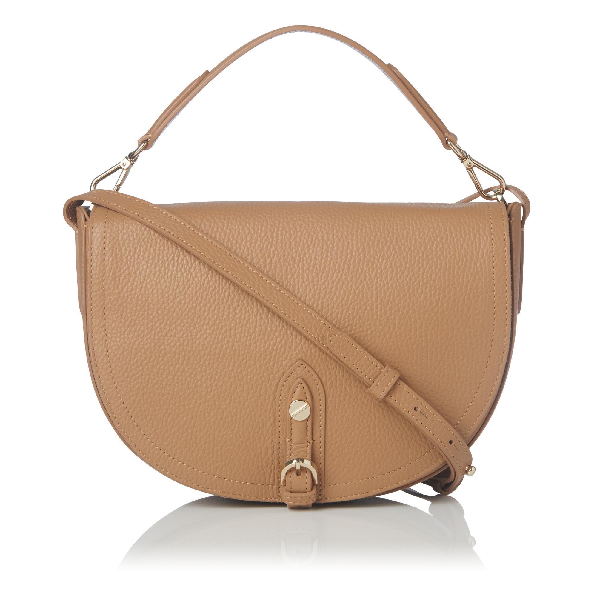 Andrea Tan Leather Shoulder Bag