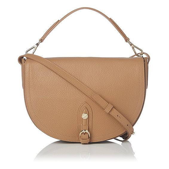 Andrea Tan Leather Shoulder Bag