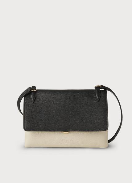 Patricia Black Leather Shoulder Bag