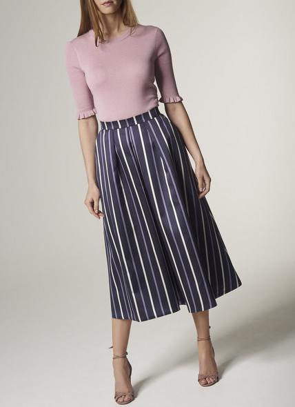Natalee Blue Multi Skirt