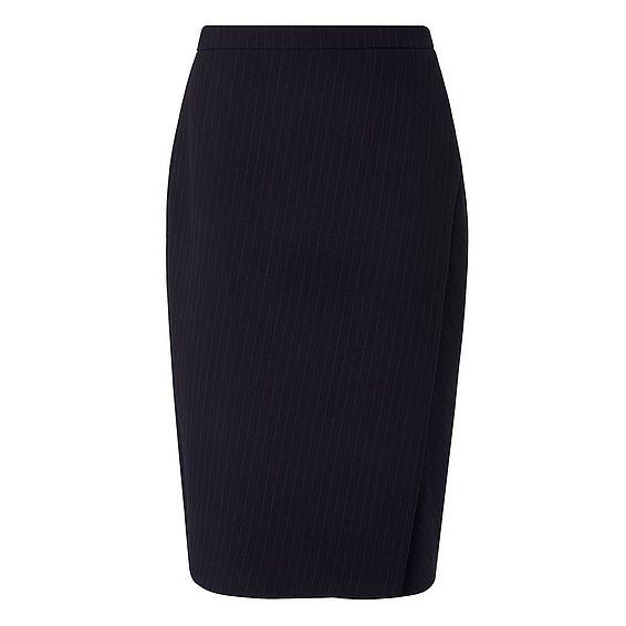 Rosanne Navy Skirt
